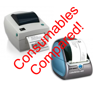 All About Labels - Label Printing Cost Comparison - Dymo