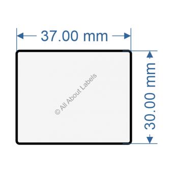 37mm x 30mm Labels - 82029